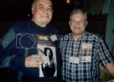 Comidian Jonathan Winters with Myron Ross